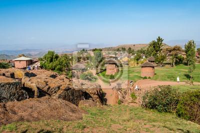 Lalibela Dorf