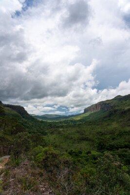 Landscape at the Serra da Canastra National Park in Brazil