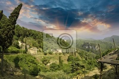 Landschaft von Santa Margherita Ligure