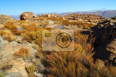 Landschaft von Wolfberg Risse in der Cederberg, Republik Südafrika