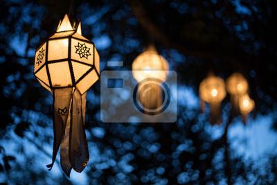 Poster Lanterns and Bokeh
