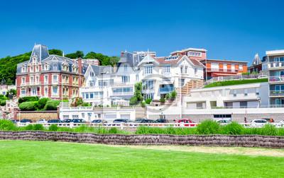 Le Havre, maison typiques en Normandie, France