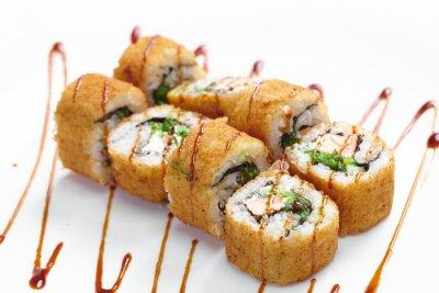 Poster Leckere Sushi