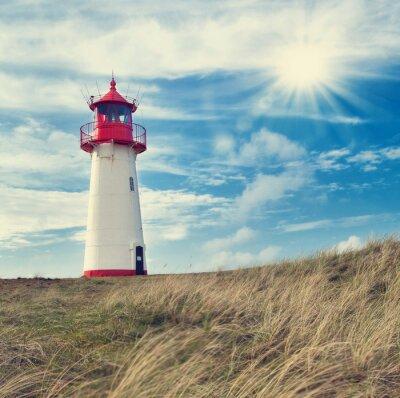 Poster Leuchtturm Listland