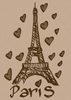 Liebe Paris Weinlese