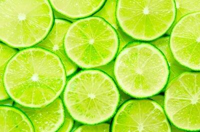 Poster Lime Hintergrund