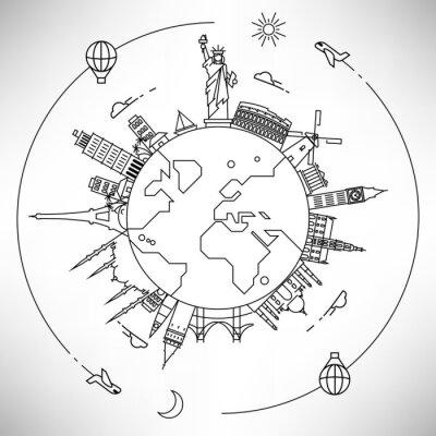 Linear World Sehenswürdigkeiten