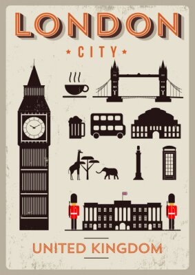 Poster London City Poster Design