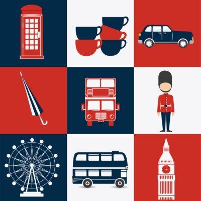 Poster London design.