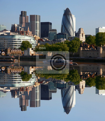 London, moderne Stadtbild, UK