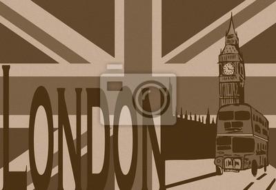 London Stadt vintage