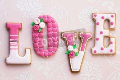 Poster Love cookies