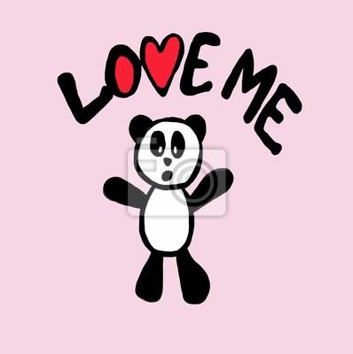 Love me Panda