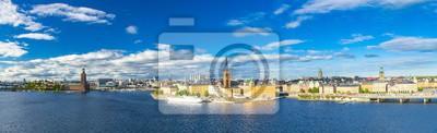 Luftaufnahme von Stockholm, Schweden