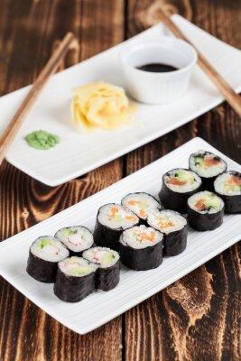 Poster Maki-Sushi-Set