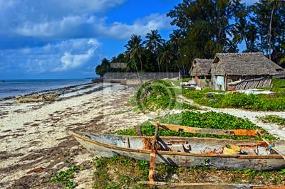 Malerische Küste Diani