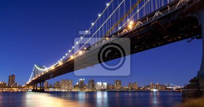 Poster Manhattan Bridge in New York City