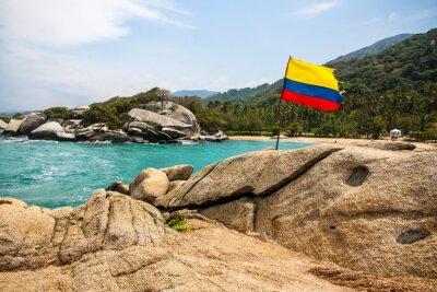 Poster Maravilloso Parque Nacional Tayrona (Kolumbien)