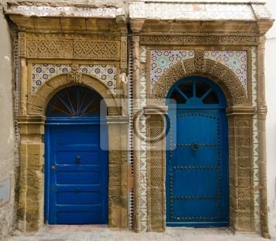 Marokkanischen Türen in Essaouira