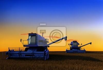Maschine zum Ernten