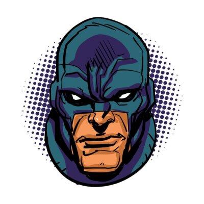 Poster Maskierte Superheld
