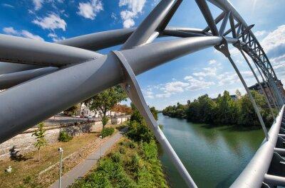 Modern bridge of Bamberg, Germany