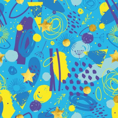 Modern bright abstract pattern.