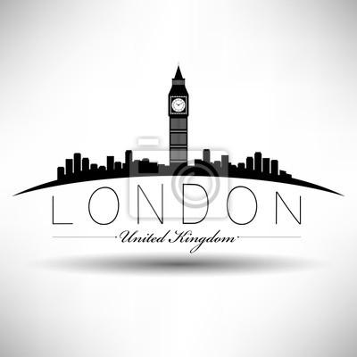 Modern London Skyline Design