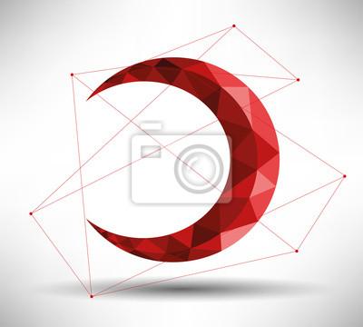 Moderne Design-Crescent