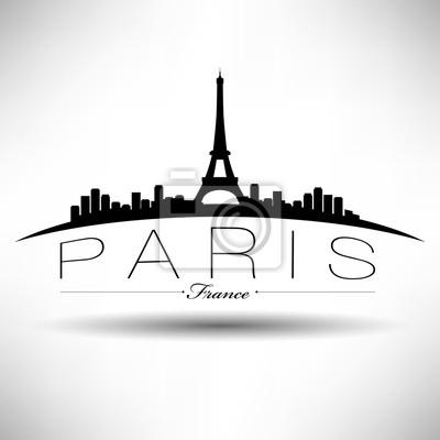 Moderne Paris Skyline Design