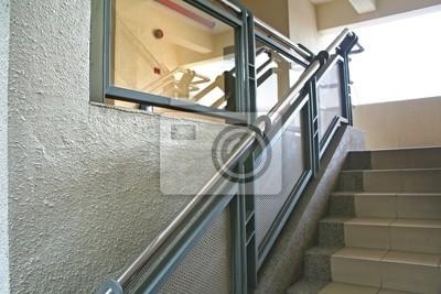 Modernes Treppenhaus Wandposter Poster Stuartkey Aufsteigen