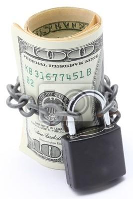 Money Saving Versicherung Konzept