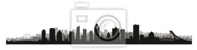 Montreal city, Canada skyline. Canadian landmarks. Urban architecture