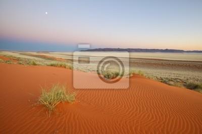 Moonlit Red Sanddüne