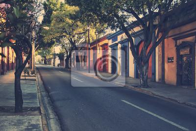 Morgen Straßen in Puebla de Zaragoza, Mexiko