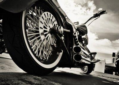 Poster Motorrad