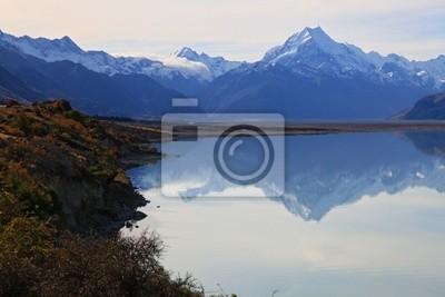 Mount Cook von See pukaki