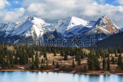 Poster Mountain Landscape in Colorado Rocky Mountains, Colorado, United States.