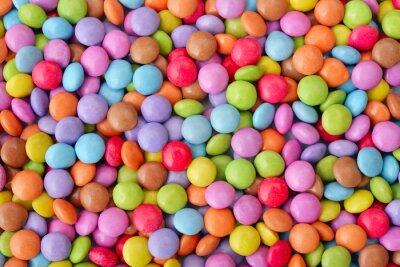 Poster Multicolor Süßigkeiten