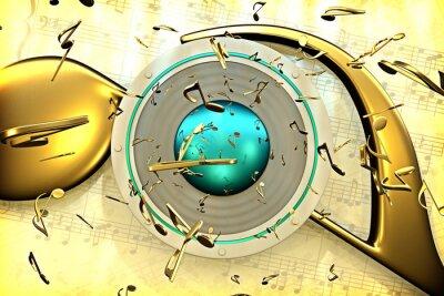 Poster Musikkonzept