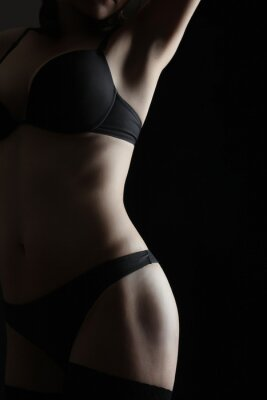 Poster Nackte Frau sexy Körper Erotik