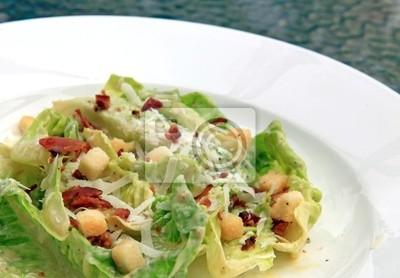 Nahaufnahme Caesar Salat