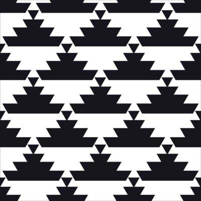 Poster Nahtlose geometrische Muster