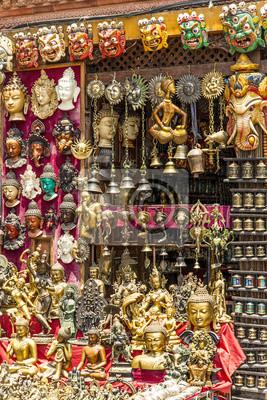 Nepalesischen giftshop