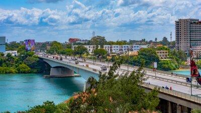 Poster New Nyali Bridge in Mombasa, Kenya