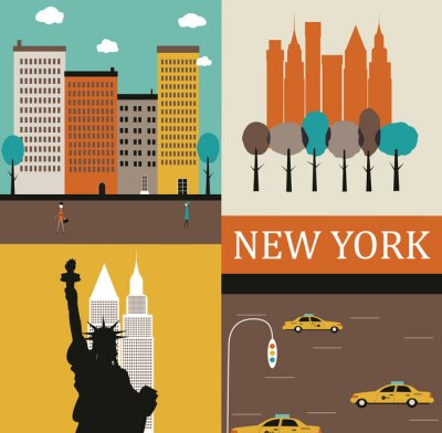 Poster New York.