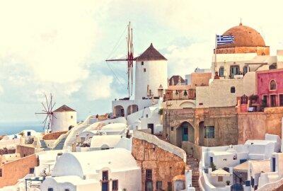 Poster OAI Santorini View