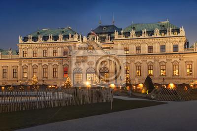 Ober Palace in historischen Komplex Belvedere, Wien, Österreich