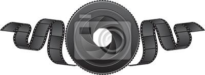 Objektiv und Film