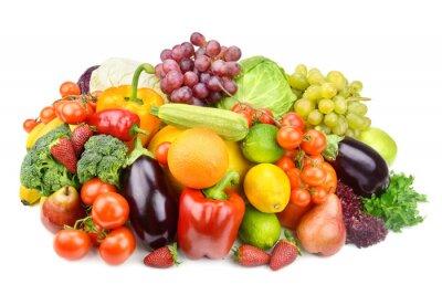 Poster Obst und Gemüse